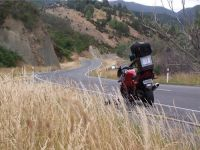 Riding the twisting roads of New Zealand on our rental motorcycles is an adventure.