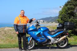 BMW motorcycle or hire from Auckland to tour New Zealand