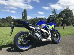 Yamaha R3 for hire
